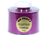GLITTER CRAFTING POWDER FUSCHIA