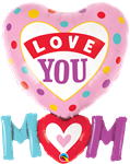 Qualatex 82552 Love You Mum Foil