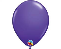 5'' Round Purple Violet Latex