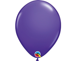 11''  Round Purple Violet Latex