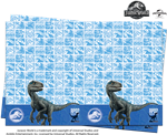 JURASSIC WORLD PARTY TABLE COVER (1 PER PACK)