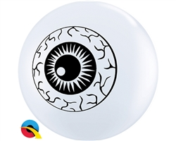 "5"" ROUND EYEBALL TOPPRINT LATEX (100 PER BAG)"