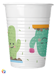 Cactus Plastic Party Cups