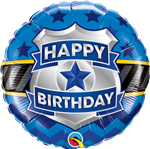 Birthday Badge Foil