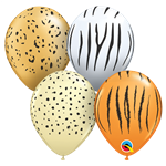 Qualatex 87144 SAFARI ASSORTMENT LATEX
