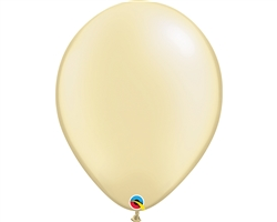 "16"" ROUND PEARL IVORY LATEX (50 PER BAG)"