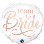 Team Bride Foil Balloon
