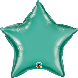 "20"" Star Chrome Green Foil"