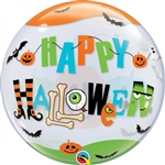 "22"" SINGLE BUBBLE HALLOWEEN FUN FONT"