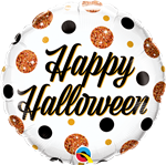 Qualatex 89806 Halloween Sparkly Dots Foil