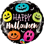 Qualatex 89822 Halloween Jack Faces Foil