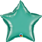 "Qualatex 90103 20"" Star Chrome Green Foil"
