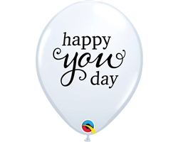 Happy You Day Latex Balloons