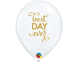 Best Day Ever Latex Balloons