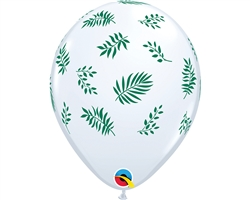 Tropical Greenery Latex Balloons