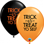 Qualatex 97357 Simply Trick Or Treat Yo Self