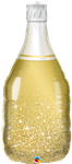 "39"" GOLDEN BUBBLY WINE BOTTLE"
