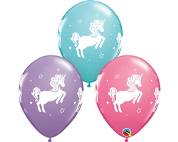 "Qualatex 98220 11"" WHIMSICAL UNICORN"