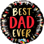 Qualatex 98428 Best Dad Ever Foil