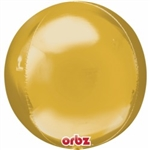 "ORBZ GOLD 15"" x ""16 (PACK OF 3)"