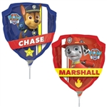 Paw Patrol Mini Shape Foil Balloon