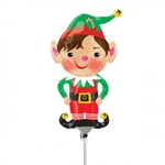 MINI ELF JOLLY FOIL BALLOON