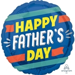 Amscan Anagram 3932701 Father's Day Foil