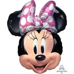 Amscan 4097901 Minnie Mouse Forever Head Foil
