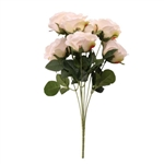 CAMELOT ROSE BUNCH 7 HEADS CREAM