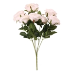 CAMELOT ROSE BUNCH 7 HEADS IVORY