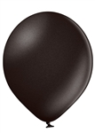 "Belbal 5"" Metallic Black Latex Balloons Ireland"