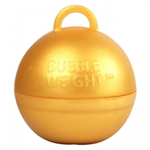 BW014 Bubble Balloon Weight Gold Ireland