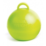 BW021 Bubble Balloon Weight Lime Green Ireland