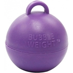 BW022 Bubble Balloon Weight Purple Ireland