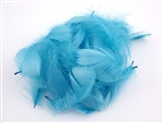 GOOSE COQUILLE FEATHERS POWDER BLUE 20G