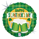 "18"" ST PATRICKS GREEN BEER CHEER FOIL"
