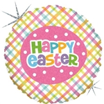 "GRABO 86960H-P 18"" SPRINGTIME EASTER PLAID"