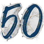 "41"" MARBLE MATE NUMBERS 50 BLUE FOIL"