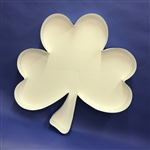 Mosaic Balloon Frame Shape Shamrock Ireland