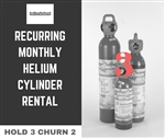 Monthly Cylinder Rental for 3 Cylinder Holdings