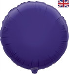 "18"" PURPLE ROUND PACKAGED FOIL"