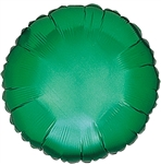"18"" GREEN ROUND PACKAGED FOIL"