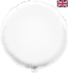 "18"" WHITE ROUND PACKAGED FOIL"