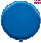 "18"" BLUE ROUND PACKAGED FOIL"