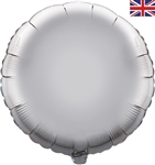 "18"" SILVER ROUND PACKAGED FOIL"