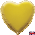 "18"" GOLD HEART PACKAGED FOIL"