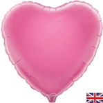 "18"" PINK HEART PACKAGED FOIL"
