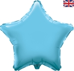 "19"" LIGHT BLUE STAR PACKAGED FOIL"