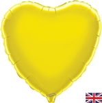 "18"" YELLOW HEART PACKAGED FOIL"