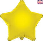 "19"" YELLOW STAR PACKAGED FOIL"